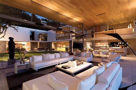modern home living room spectacular atlantic seaboard showpiece by saota