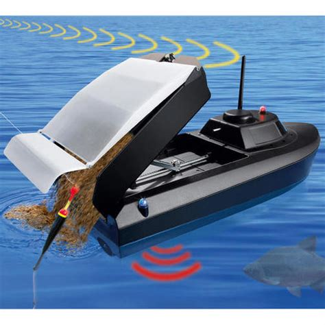 rc boat fishing boat rc chum boat is second only to dynamite for cheating