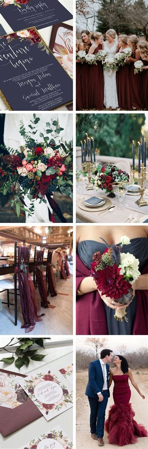Navy and marsala wedding. Navy wedding. Marsala wedding
