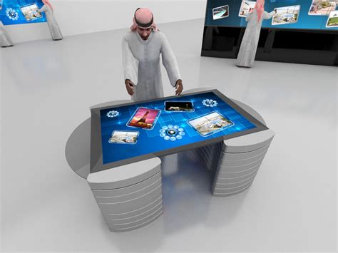 multi touch table 42 inches paravision