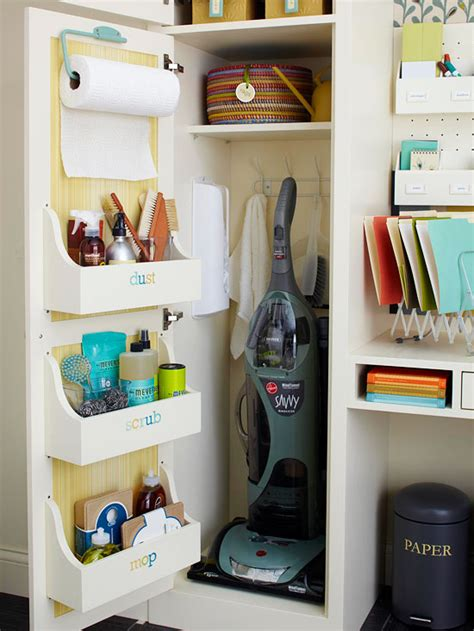 How To Organize Storage Closet by Bhg Style Spotters