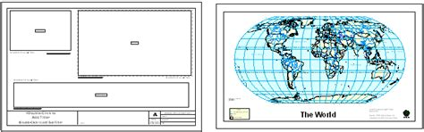 arcmap layout view template arcgis desktop help 9 2 working with map templates