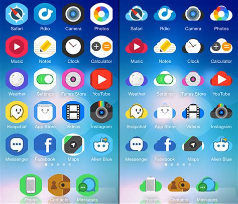 theme rose cydia ios 8 icon masks cydia tweak changes the whole home screen