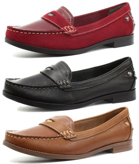 new hush puppies iris sloan womens loafer shoes all sizes