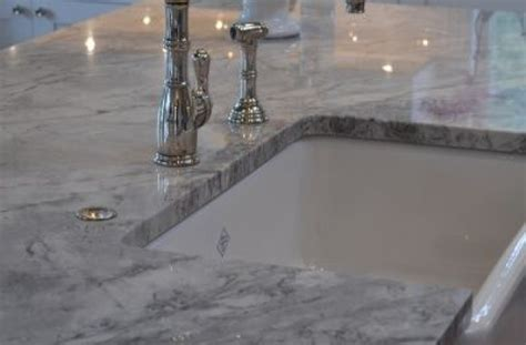 Countertops That Look Like Carrara Marble by Which Countertops Should I Use In A White Kitchen Which