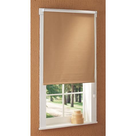 roller shades with curtains blackout roller shades 127393 curtains at sportsman s guide