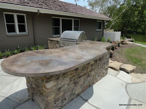 Concrete Countertops Outdoor by Cozy With Concrete 187 A For Concrete