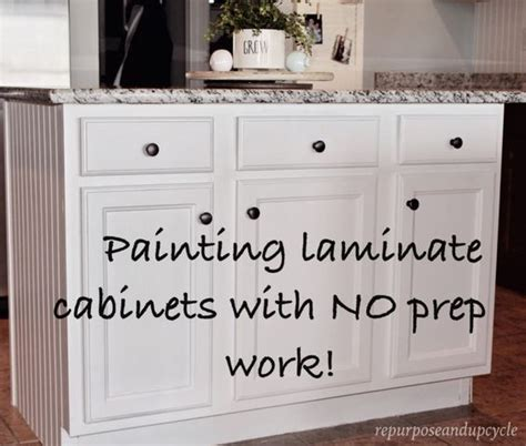 how to prep kitchen cabinets for painting easy tutorial on how to paint cheap laminate cabinets with