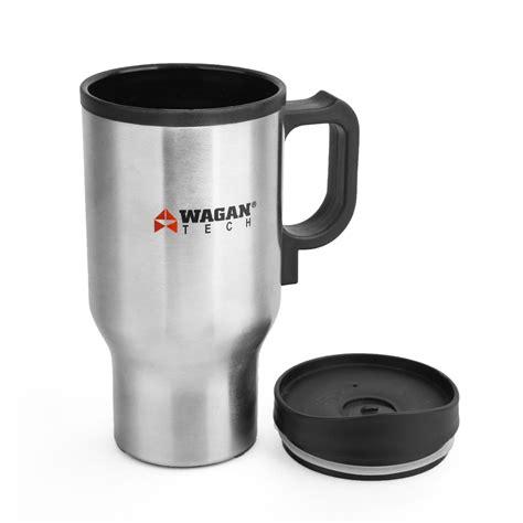 Car Mug Heated wagan el2227 1 12 volt heated travel mug set