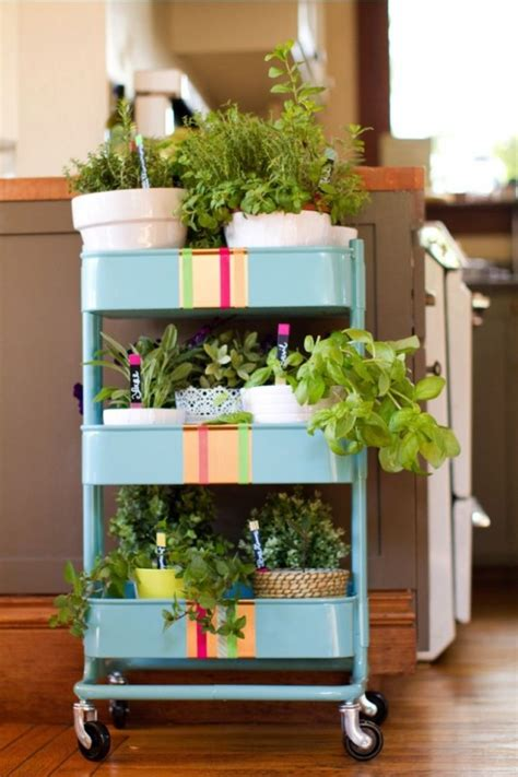 ikea plant ideas 60 smart ways to use ikea raskog cart for home storage