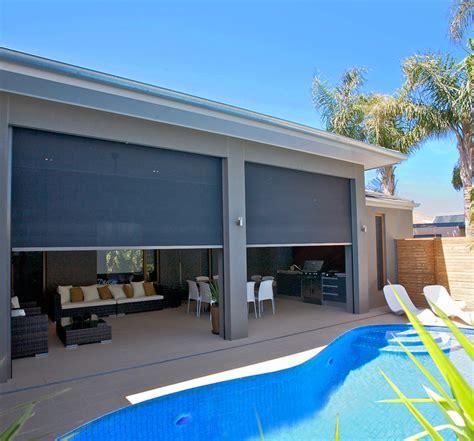 australian awnings zipscreen awnings manufacturer australia made orion blinds