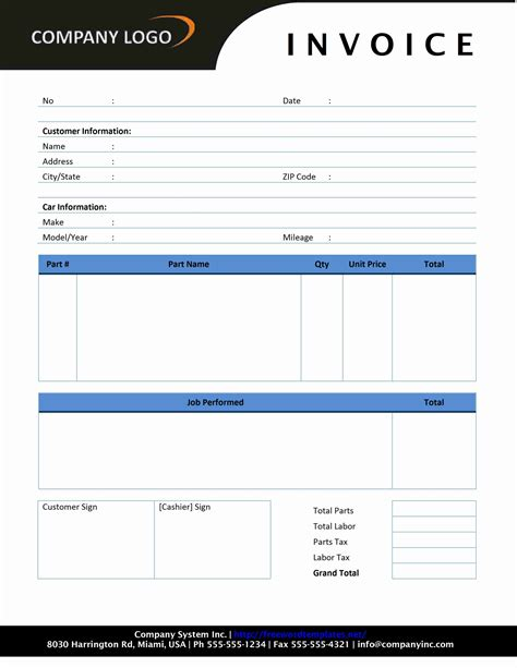 invoice template html code invoice sle template