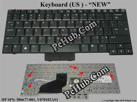 Keyboard Hp Elitebook 2530p Hp Elitebook 2530p Series Keyboard Sps 506677 001