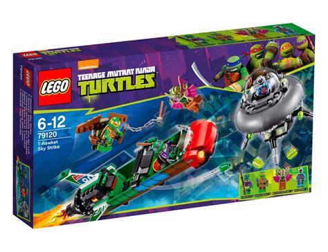 Lego 79120 T Rawket Sky Strike Mutant Turtles lego 79120 lego turtles t rawket sky strike εναέριο χτύπημα χ1 πυραύλου toymania