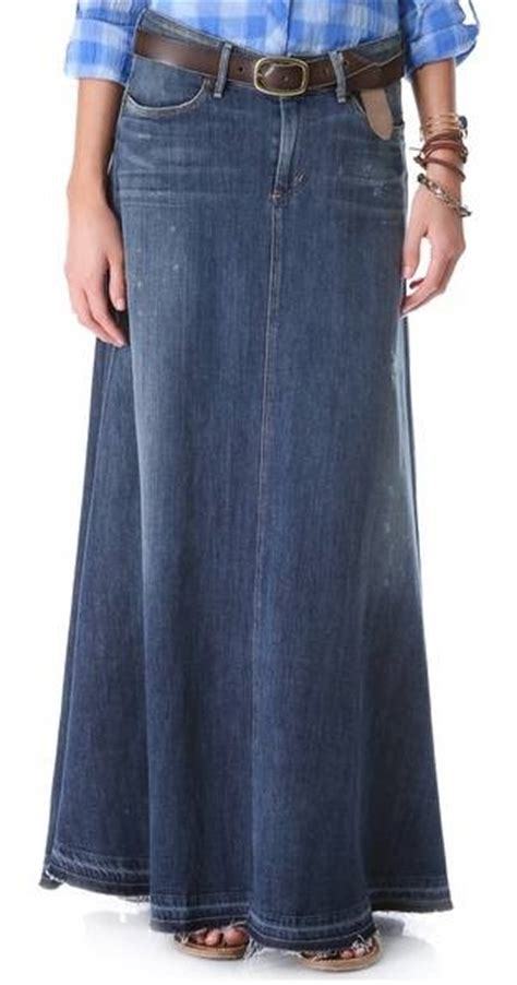 tr 232 s chic let s talk about denim maxi skirts shall we