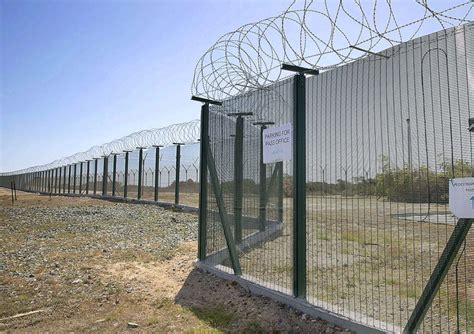 high security fencing raf akrotiri cld fencing cld