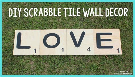 scrabble tile wall decor diy scrabble tile wall decor a craft in your day