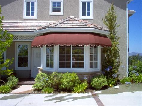 Bay Window Awning by Awnings Orange County The Awning Company