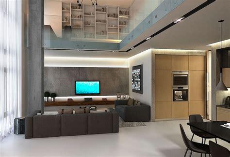decorar living triplex loft duplex
