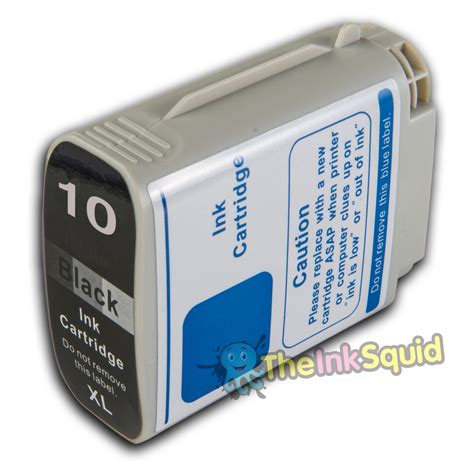 Tinta Hp 10 Black Original by Black Hp 10 Xl Chipped Compatible Ink Cartridge For