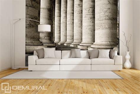 architectural wall murals corridor of columns architecture wallpaper mural photo wallpapers demural