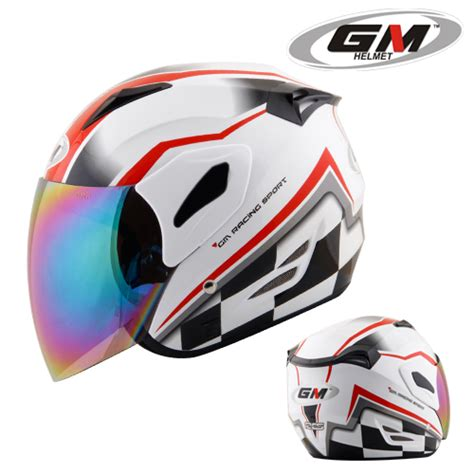 Helm Gm Racing Pin Helm Ink Cross X Black Toko Top Speed On