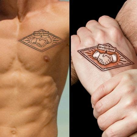 brotherhood tattoo for brothers cool tattoo ideas for