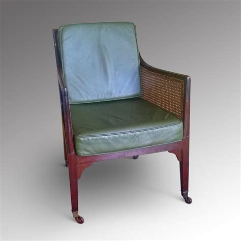 Library Chair by Regency Mahogany Bergere Library Chair 302818