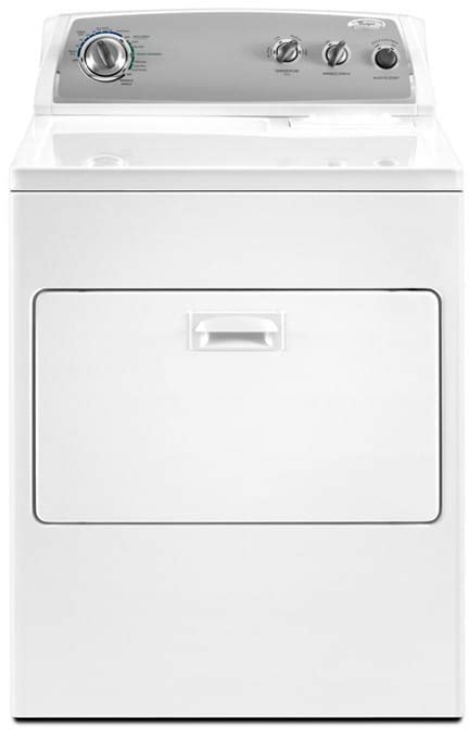 whirlpool wedxw   electric dryer   cu ft capacity  cycles  temperature