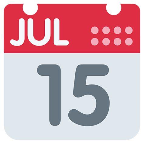 Calendar Emoji List Of Object Emojis For Use As Stickers