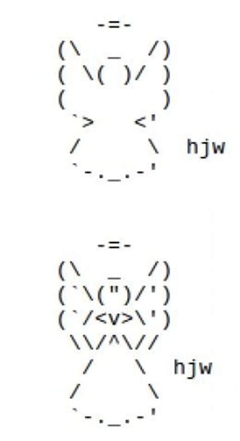 1000 images about ascii art on pinterest