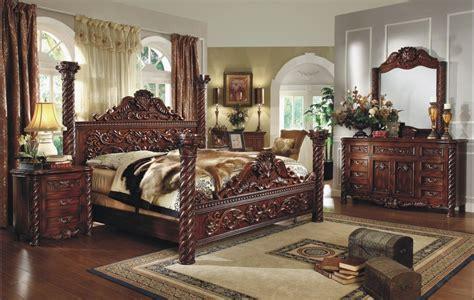 Cama gigante de los muebles de madera antiguos de lujo del dormitorio ? Cama gigante de los