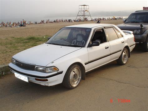 1990s Toyota 1990 Toyota Corona Pictures 2000cc Diesel Ff