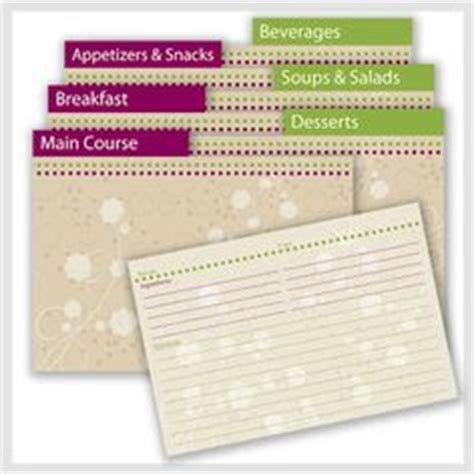 card divider template 1000 ideas about printable recipe cards on