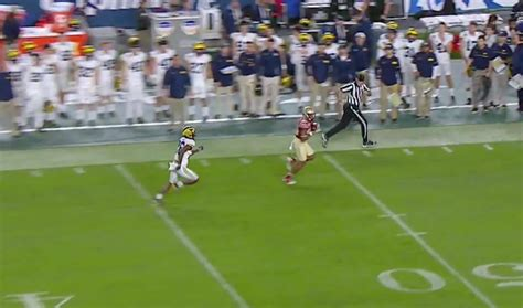fsu student section watch deondre francois hits nyqwan murray for 92 yd td