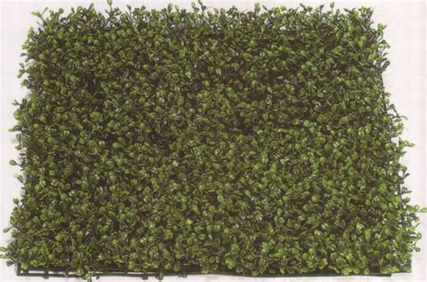 one artificial boxwood mat uv long leaf 21 inches silk