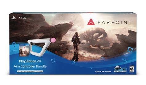 Ps Vr Farpoint Aim Controller Bundle farpoint psvr aim controller bundle review best buy