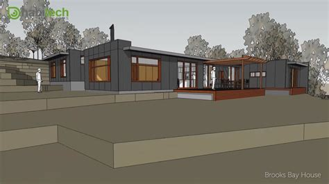House Designs And Floor Plans Tasmania Design Animation Bay House Tasmania Habitech