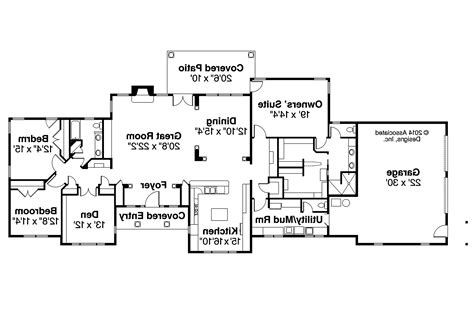 ranch house floor plans ranch house plans parkdale 30 684 associated designs