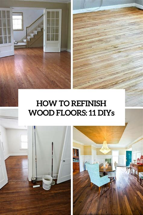 How To Refinish Wood Floors by How To Archives Shelterness
