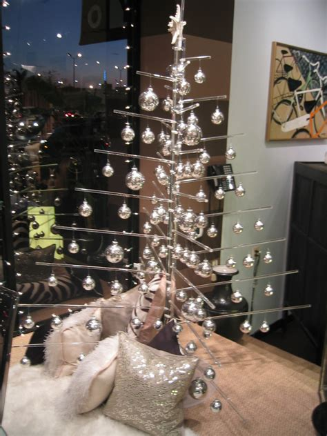 merry modern minimal christmas tree in lucite acrylic is