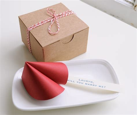 Paper Fortune Cookies - paper fortune cookie wedding bridal shower
