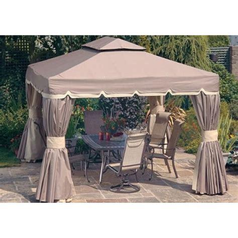10x10 gazebo privacy curtains replacement canopy for bellagio 10 x 10 gazebo garden
