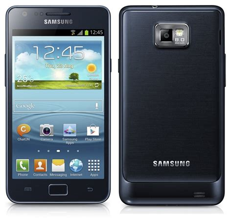 Samsung Galaxy Ii samsung galaxy s ii plus gt i9105p now available in