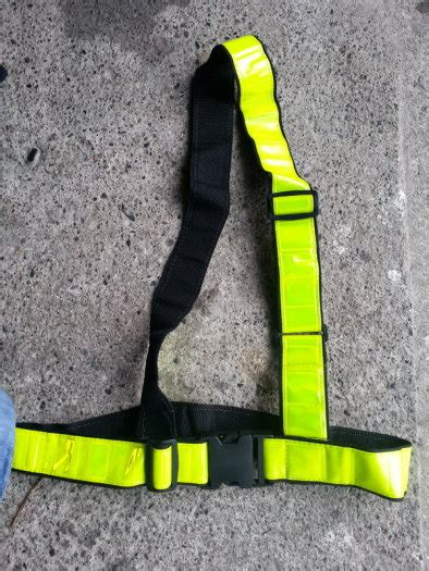 sam brown reflective belt for sale in howth dublin from