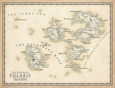 the northern polaris islands mapforge on patreon maps