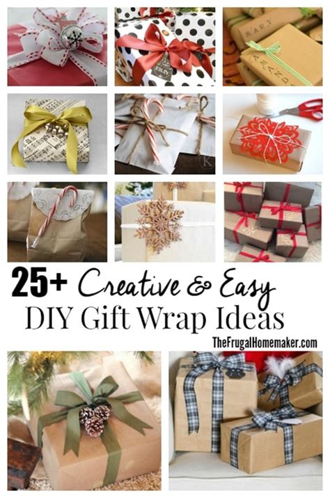 easy way to gift wrap 25 simple creative diy gift wrap ideas day 13 of 31