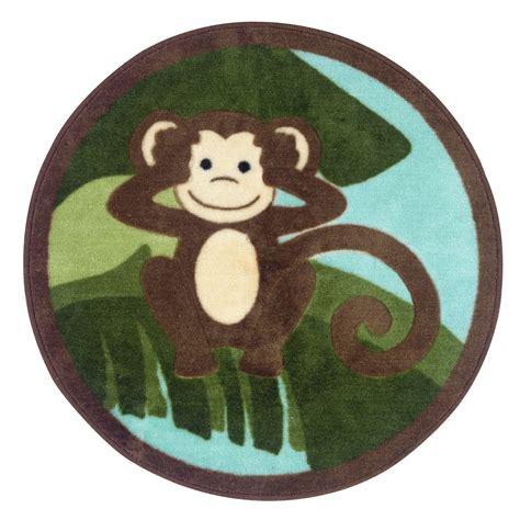 monkey bath rug essential home spunky monkey bath rug
