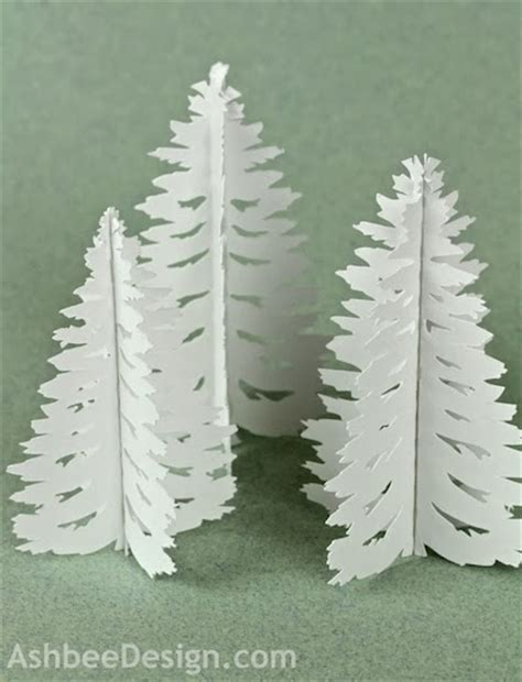 construction paper tree lit with tea light ashbee design silhouette projects tea light pine tree tutorial