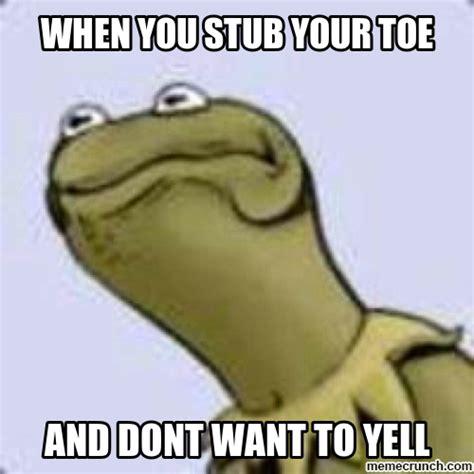 Toe Memes - stubbed toe meme